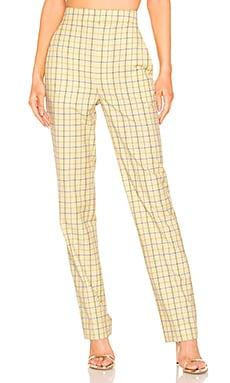 Marvel Plaid Suiting Pant Tibi $115