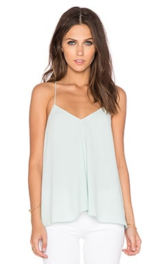 Savanna Draped Cami in Mint