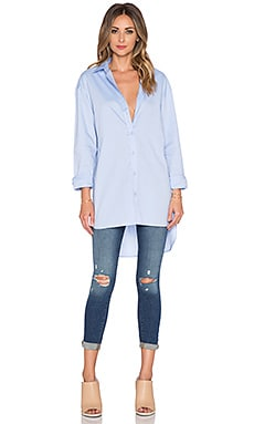 Tibi Essential Shirt in Light Blue