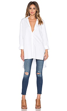 Tibi Essential Shirt in White