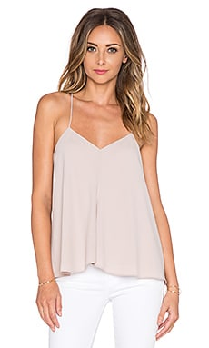Tibi Savanna Draped Cami in Blush