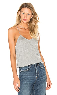 Tibi Jersey Cami in Heather Grey