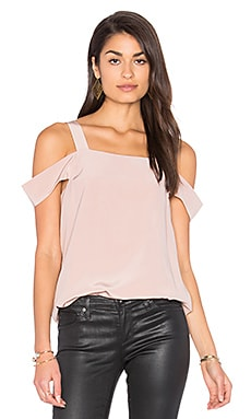 Cut Out Sleeve Tank in Margaux