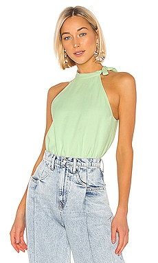 Chalky Drape Halter Top Tibi $127 Collections