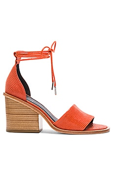 Tibi Clark Heel in Burnt Orange
