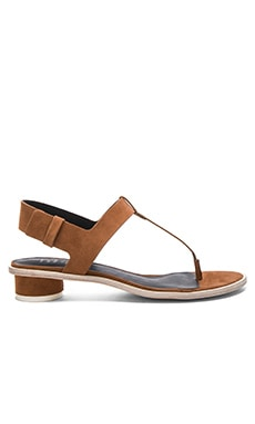 Tibi Morgan Sandal in Cinnamon