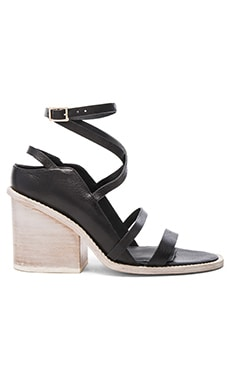 Tibi Faye Sandal in Black