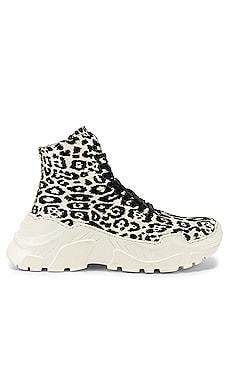 Milo Leopard Sneaker Boot Tibi $342 Collections