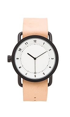 TID Watches No. 1 in White & Natural Leather