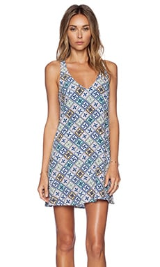 Tigerlily Las Dalias Dress in Tile