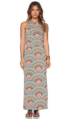 Tigerlily Amante Maxi Dress in Emerald