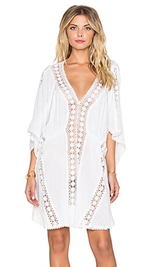 Tigerlily Melite Caftan in White