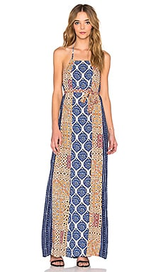 Hayati Maxi Dress in Patchwork