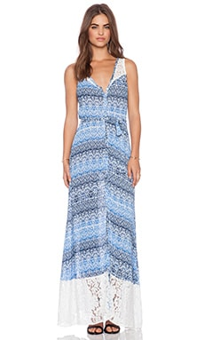 Tigerlily Sacha Maxi Dress in Tile