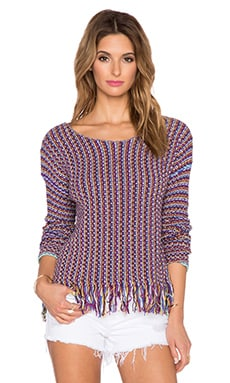 Tigerlily Filip Knit Sweater in Multi