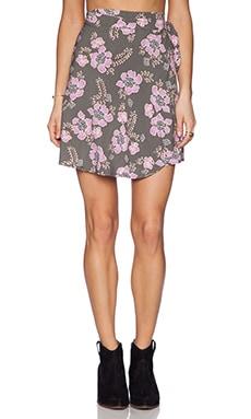 Tigerlily Talamanca Wrap Skirt in Floral