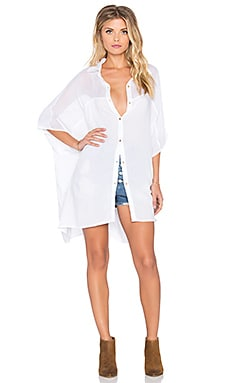 Tigerlily Vela Beach Shirt in White