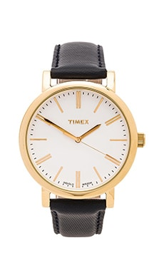 Timex Original in White & Deep Blue