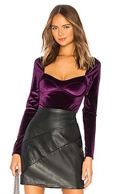 Reeve Velvet Bodysuit Thistle & Spire $33 (FINAL SALE)