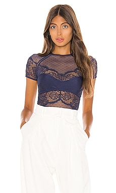 Amore Short Sleeve Bodysuit Thistle & Spire $98