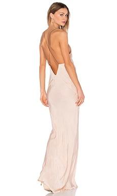 Long Plunge Dress