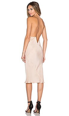 x REVOLVE Plunge Slip dress in Blush
