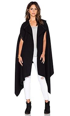 TITANIA INGLIS Vesper Cloak in Black