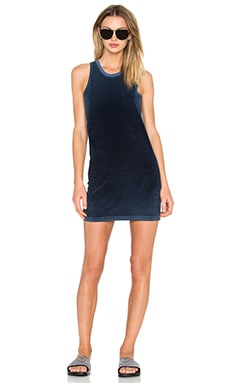 TYLER JACOBS Maui Tank Dress in Vintage Navy
