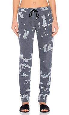 TYLER JACOBS Kendi Sweatpant in Winter Camo