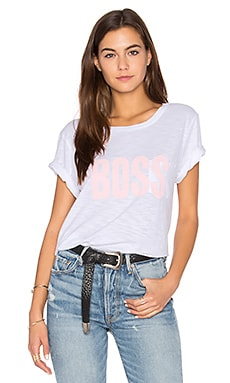 Boss Gabels Tee in White