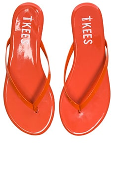 Glosses Sandal in Red Apple