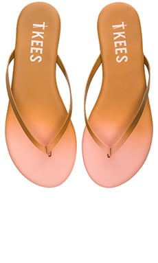 TKEES Powders Sandal in Passion Pink