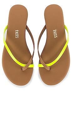 Riley Neon Flip Flop TKEES $58