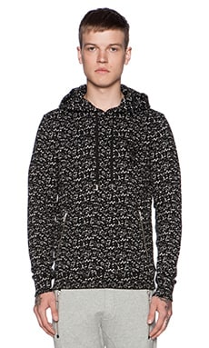 PULL CRACKLED PRINTED FLEECE