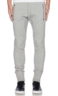 The Kooples Classic Fleece Sweatpant in Grey