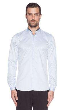 The Kooples Smart Twill Shirt in Blue