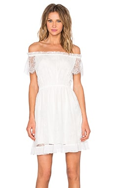 The Kooples Lace Dress in White