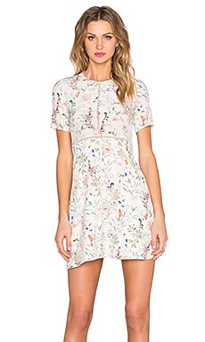 The Kooples Floral Dress in White