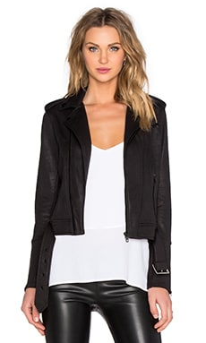 The Kooples Moto Jacket in Black