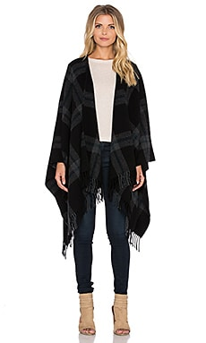 The Kooples Virgin Wool Scarf in Black