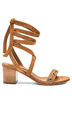 The Kooples Strappy Stud Sandal in Camel