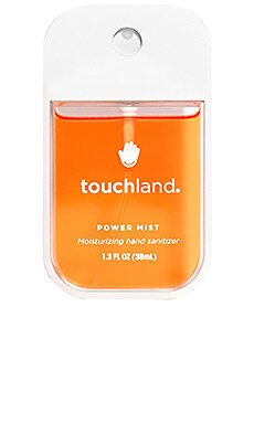 Citrus Power Mist Hand Sanitizer touchland $12