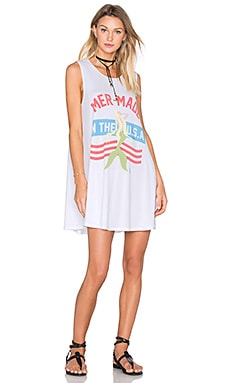 The Laundry Room Mermade In The USA Dress in White