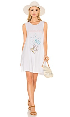 The Laundry Room Shell Phone Dress in White