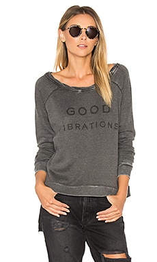 Good Vibrations Cozy Crew in Coal