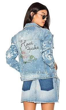 Heart Breaker Moto Club Jacket