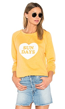 Sun Days Cozy Jumper in Poppy
