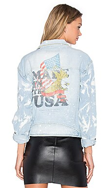 The Laundry Room USA Crest Billy Jean Jacket in Desert Rain