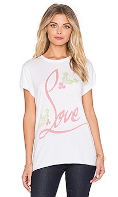 The Laundry Room Louveberry Rolling Tee in White
