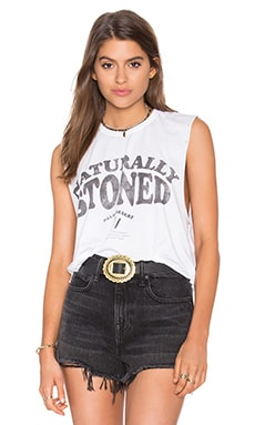 The Laundry Room x REVOLVE Naturally Stoned Cropped Muscle Tee in White